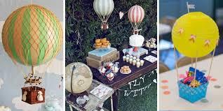 Hot Air Balloon Birthday Party Decor