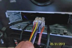 in dash radio no sound irv2 forums the next picture is not real clear but you can see the light blue white wire from the pioneer connector that plugs in the back of the radio