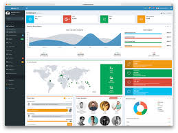 Top 20 Best Free Bootstrap Admin Dashboard Themes 2019 Talkelement