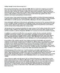 writing a good college application essay example college admission essays good example of college application