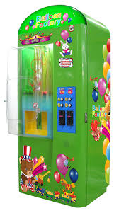 Helium Balloon Vending Machine Enchanting Balloon Vendor Vending Machines Amusement Machine Manufacturer