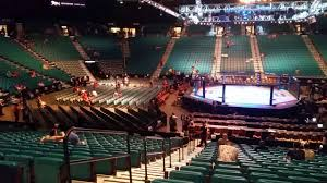 Mgm Grand Arena Ufc Section 12 Row T