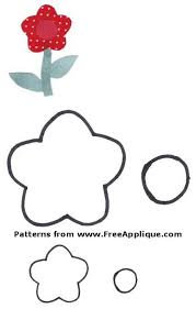 23 Flower Patterns - FreeApplique.com & Flower Pattern for quilting Adamdwight.com