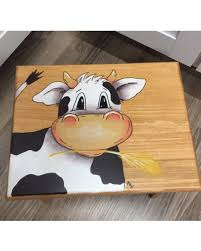 painted kids furniture.  furniture cow step stool kids farm animal step stool kids foot for painted furniture o
