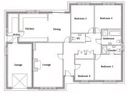3 bedroom bungalow house plan in kenya plans