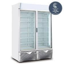 framec green emotion double door display freezer