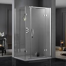 shower cubicles. Aquadart Inline Hinged 2 Sided Shower Enclosure 1000 X 900 AQ1027 Cubicles