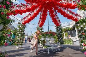 Фестиваль «Цветочный джем-2019» стартовал в Москве ...