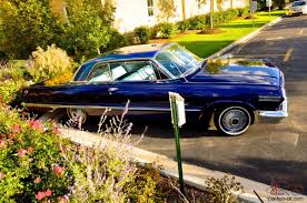 Chevy Impala (Custom Blue 2 door 63 chevy Impala) look 12 pictures