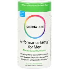 Where To Buy Rainbow Light Vitamins Rainbow Light Performance Energy Multivitamin For Men 180