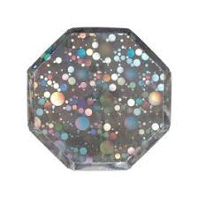 Holographic Silver Small Plates - Meri Mermaid Party Supplies \u0026 Decorations Online | The Cupboard