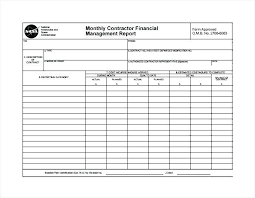 Monthly Financial Report Template Monthly 274540585454 Finance