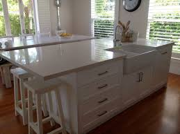 Kitchen Island With Sink   TjiHome