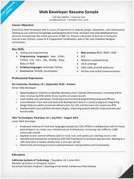 Web Developer Resume Awesome 60 Web Developer Resume Ambfaizelismail