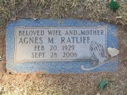 Agnes M. Trevethan Ratliff (1929-2006) - Find A Grave Memorial