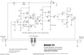 selected schematics booster
