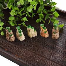 Gardening Decorative Accessories Fashion Mini Mountain Toys Bonsai Ornaments Plant Gardening Garden 29