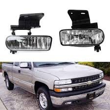 Silverado Fog Light Bulb Size Right 1999 2002 Chevy Silverado Replacement Fog Light Set