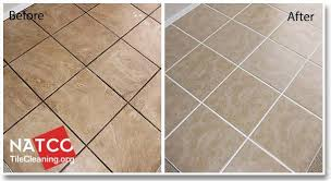 how to whiten grout. Plain Grout Before And After Cleaning Ceramic Tile Floor On How To Whiten Grout O