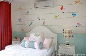 cute girl bedrooms. Mix \u0026 Match Stencil Patterns For A Cute Girls Bedroom | Paint + Pattern Girl Bedrooms