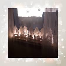 Weihnachtsbeleuchtung Winterwald In 3d Optik Weihnachtsdekoration Advent Weihnachten
