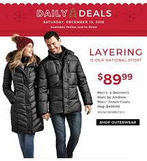 daily deals saay december 10 2016 available in layering is our