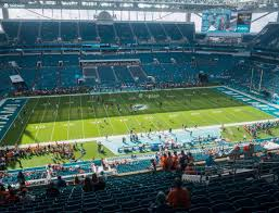 Miami Dolphins Hard Rock Stadium Seating Chart Hard Rock Stadium Section 320 Seat Views Seatgeek