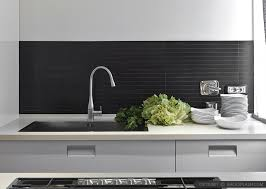 modern kitchen backsplash ideas black backsplash