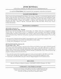 Inspirational Assistant Branch Manager Sample Resume Resume Sample