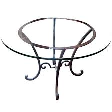 dining table base only iron round wrought for metal coffee tulip glass dinin coffee table manufacturers metal base