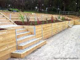 4x4 retaining wall wood retaining wall design photo 7 build 4x4 retaining wall 4x4 retaining wall