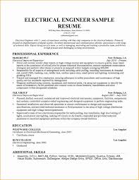 Sample Resume For Experienced Mechanical Engineer Free Download Save