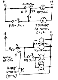 Ansul system wiring electrical contractor talk endear diagram