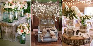 rustic-wedding-decoration-mason-jars