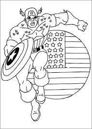 Kids N Fun 22 Kleurplaten Van Captain America