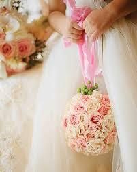rose wedding bouquets martha stewart weddings