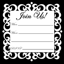 black and white printable birthday cards free online printable party invitations birthday party