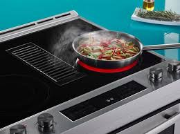 cooktop with vent. Jennair Downdraft Range In Action Cooktop With Vent