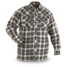 Canyon Guide® Western Quilt Flannel Shirt Jacket - 299561, Shirts ... & Canyon Guide® Western Quilt Flannel Shirt Jacket, Charcoal Plaid Adamdwight.com