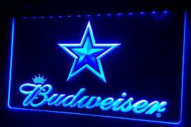2018 ls423 b dallas cowboys budweiser bar neon light sign from shinning168 11 1 dhgate com