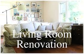 Living Room Renovation Before  After YouTube - Living room renovation