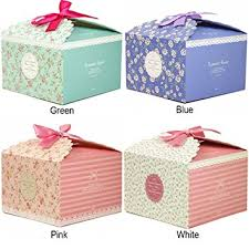 Decorative Boxes For Baked Goods Amazon Chilly Gift Boxes Set of 60 Decorative Treats Boxes 52