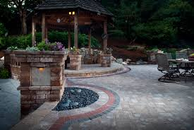 how to lay stone patio luxury stamped concrete vs paving stones parison guide