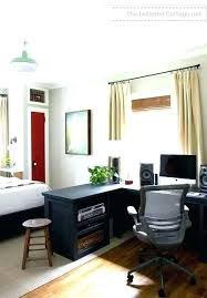 luxury small guest bedroom office idea brilliant decorating decor and picture color design layout office color design y19 design
