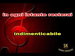 Karaoke indimenticabile Antonello Venditti - YouTube