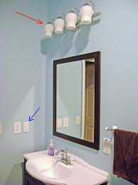 installing bathroom vanity. bathroom vanity lights with fabric shades installing a light o