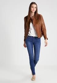 jackets lauren ralph lauren women clothes feyoshi leather jacket dark walnut zgxse0sa
