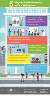 ways to foster learning in your workplace infographic e 5 ways to foster learning in your workplace infographic