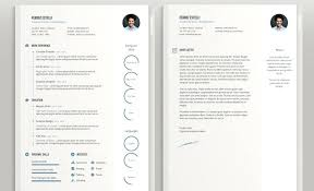 Minimalist Resume Template Word Free Best Of Infographic Resume Template Free Download Letsdeliverco