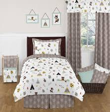 brilliant forest childrens bedding sets for boys and girls jojo designs children s bedding sets plan